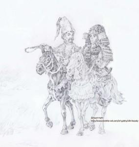 Братерство на віки)) Козак і самурай